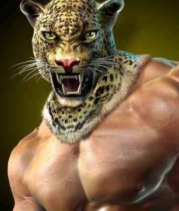 King - боец из серии игр Tekken. мексиканский реслер, выступающ