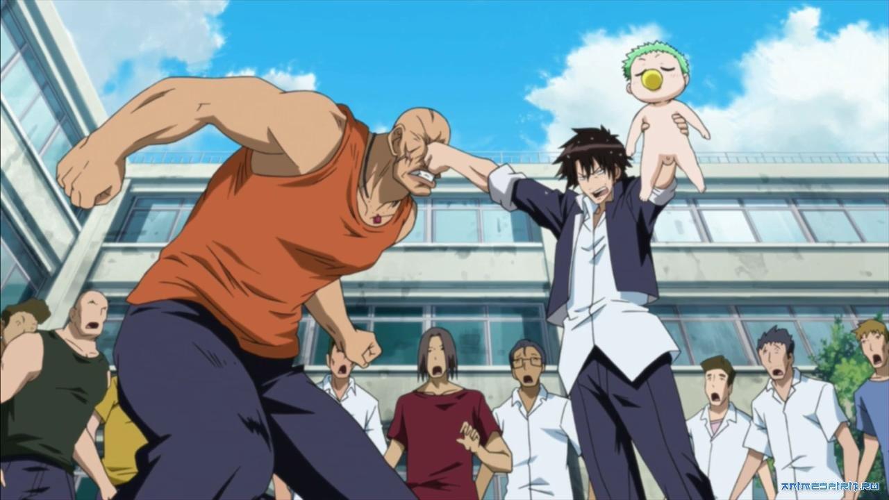 Смотреть аниме онлайн огромная