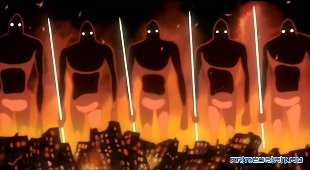 Гигантский бог-воин / Giant God Warrior / Kyoshinhei Tokyo ni Arawaru