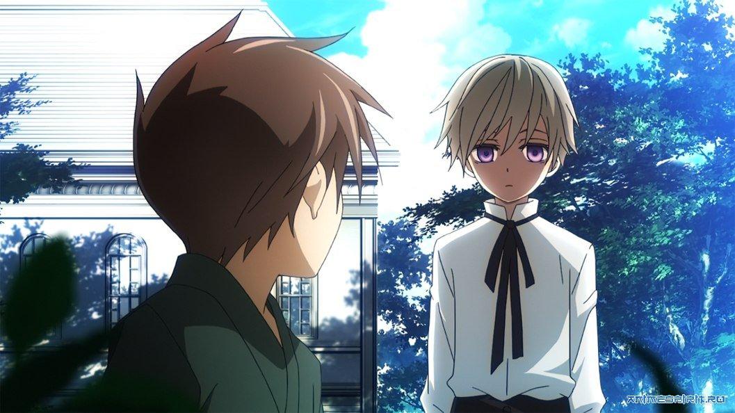 Смотреть гибридный ребенок аниме