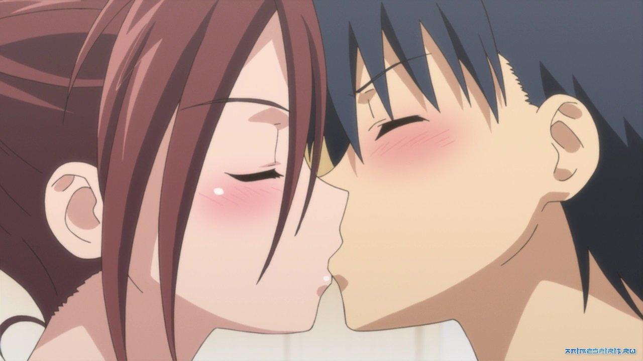 Смотреть бесплатно аниме поцелуи и секс 26 фотография
